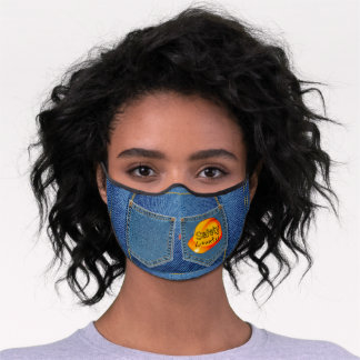 Cute Safety Hat 'Safety Counts' Face Mask