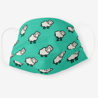 cute sheep cloth face mask
