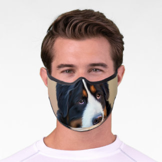 Cutom Pet Dog Photo Customized Premium Face Mask