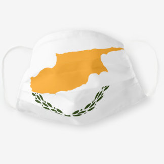 Cypriot flag cloth face mask