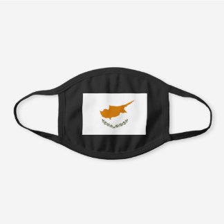 Cyprus Flag Cotton Face Mask