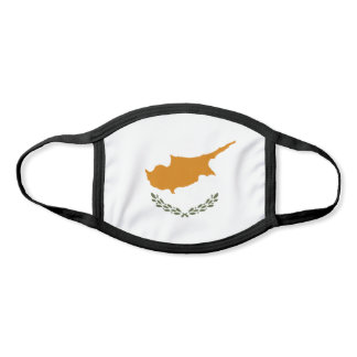 Cyprus Flag Face Mask