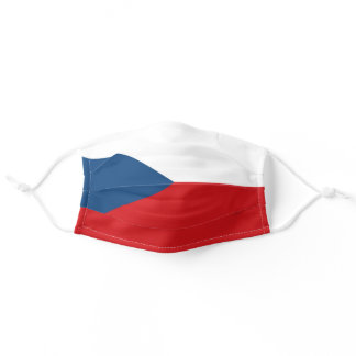 Czech Flag Cloth Face Mask