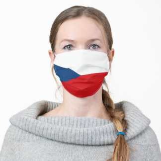 Czechia & Czech Flag Mask - fashion/sport fans