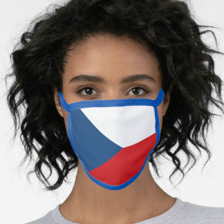 Czechia & Czech Flag Mask - fashion/sports fans