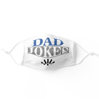Dad Jokes Loading Funny Adult Cloth Face Mask