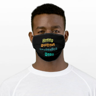Daddy Husband cool gift for dads Adult Cloth Face Mask
