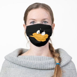 DAFFY DUCK™ Angry Face Adult Cloth Face Mask