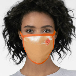 Dahlia Stripes & Dots All Over Print Face Mask