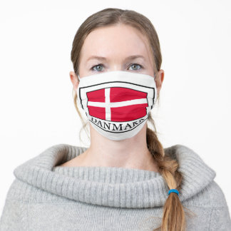 Danmark Adult Cloth Face Mask