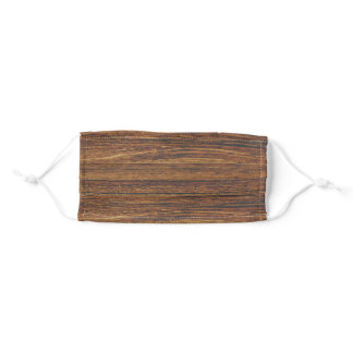 dark barn wood texture adult cloth face mask
