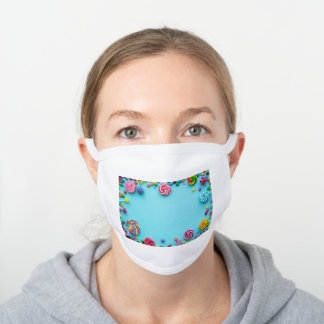 Decorative Cotton Face Mask *CANDY CANDY CANDY*