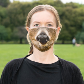 Deer Nose | Funny Adult Cloth Face Mask