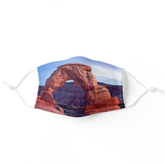 Delicate Arch in Arches National Park - Utah, USA Adult Cloth Face Mask