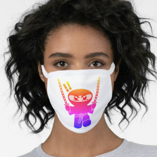 Delux Hot Ninja Swords Face Mask