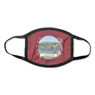 Derby, Connecticut City Flag Face Mask