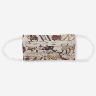 Detail of Bayeux Tapestry Medieval Vector Art Cloth Face Mask