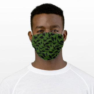 Dinosaurs Adult Cloth Face Mask