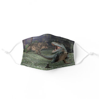 Dinosaurs Tyrannosaurus T-rex For Kids Adult Cloth Face Mask