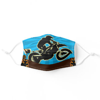 Dirtbike face mask Motocross theme face mask