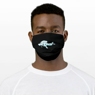 Diving Gift for Diver - Sea Dive Adult Cloth Face Mask