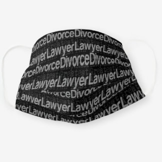 Divorce Lawyer Extraordinaire Cloth Face Mask