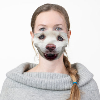 Dog Adult Cloth Face Mask