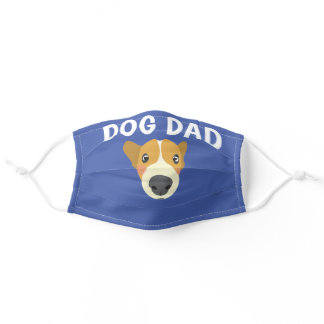 DOG DAD CLOTH MASK