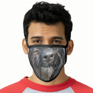 Dog Whiskers Face Mask