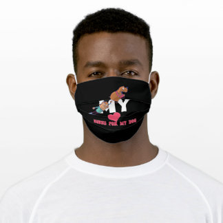 Dogs Heart Adult Cloth Face Mask