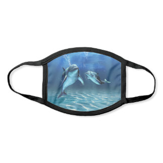 Dolphin Dream All-Over Print Face Mask