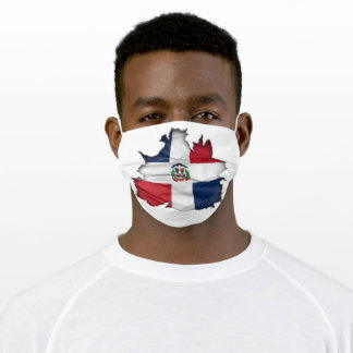 Dominican Replublic Pride Adult Cloth Face Mask