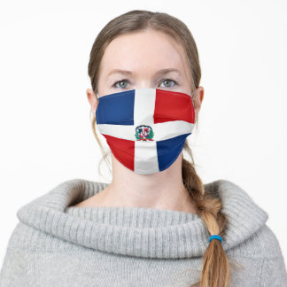 Dominican Republic Flag Adult Cloth Face Mask
