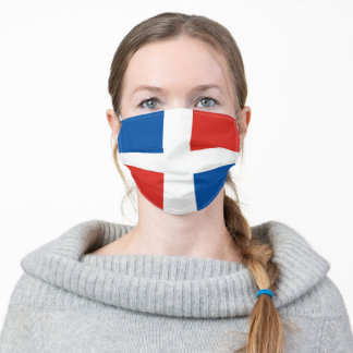 Dominican Republic flag country flag symbol nation Adult Cloth Face Mask