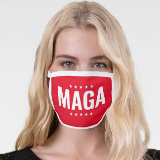 Donald Trump Red Stars Face Mask