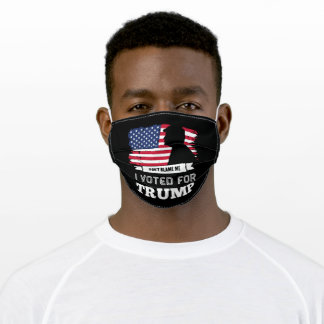 Dont Blame Me Adult Cloth Face Mask