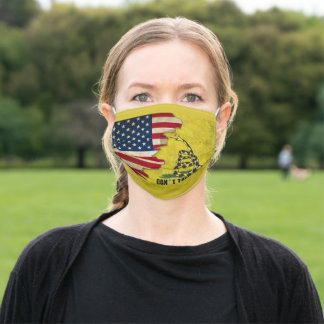 Don't Tread On Me American Flag Face Mask