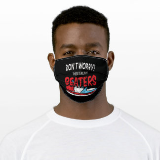 Dont Worry Beaters Sneaker Sneakers Shoe Adult Cloth Face Mask