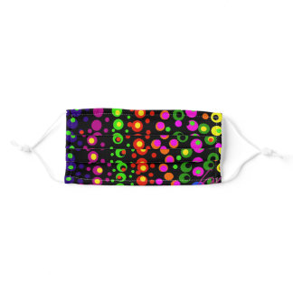 Dots on Dots Adult Cloth Face Mask