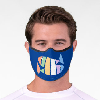 Double Fish Design Premium Face Mask
