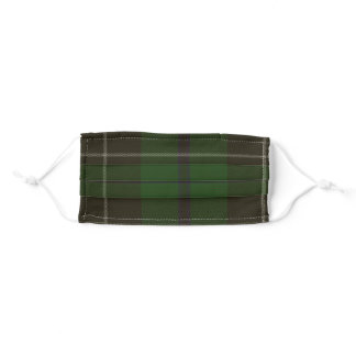 Douglas Clan Tartan Plaid Adult Cloth Face Mask