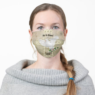 Dove of Peace Easter Adult Cloth Face Mask