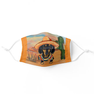 Doxie Adult Cloth Face Mask