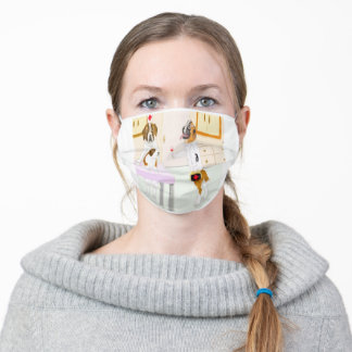 Dr. Bernard And The Brave Patient Adult Cloth Face Mask