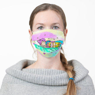 Dreaming Popples. Face Mask