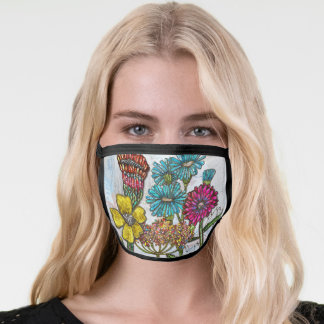 Dreamy Blooms Face Mask