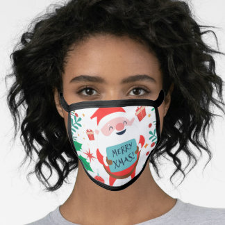 Driving Home For Christmas Face Mask