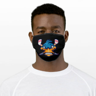 Duck for hockey adult cloth face mask