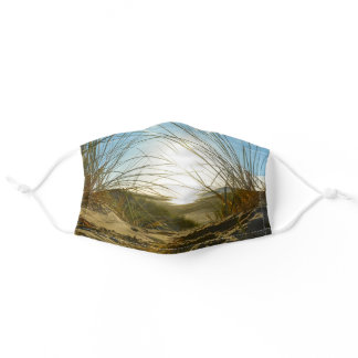 Dunes and the sea - adult cloth face mask