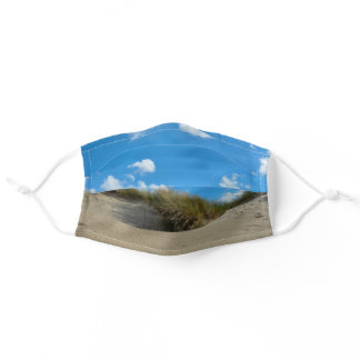 Dunes on the beach  - adult cloth face mask